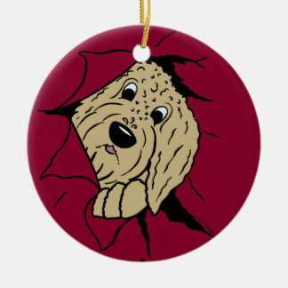 Doodles are just like that! christmas ornament