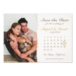 Doodle's Mood - Save the Date card 13 Cm X 18 Cm Invitation Card