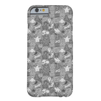 doodles pattern illustration barely there iPhone 6 case