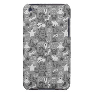 doodles pattern illustration barely there iPod cover