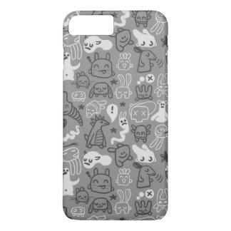doodles pattern illustration iPhone 7 plus case