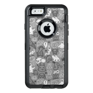 doodles pattern illustration OtterBox iPhone 6/6s case