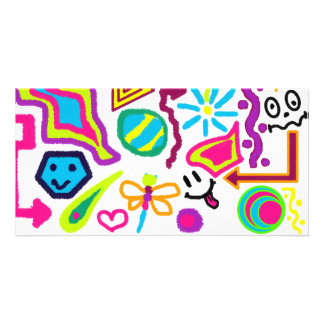doodles picture card