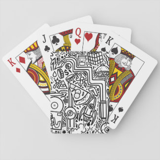 Doodles Playing Cards