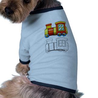 Doodles train ringer dog shirt