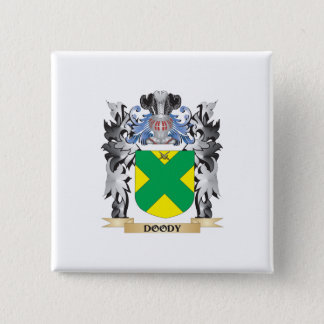 Doody Coat of Arms - Family Crest 15 Cm Square Badge