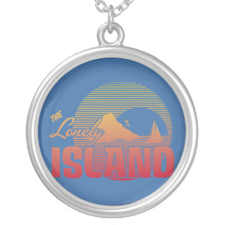 Dookie Island - Color Round Pendant Necklace