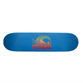 Dookie Island - Color Skateboard