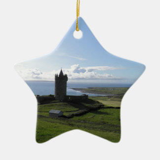 Doolin, Ireland Ceramic Star Decoration