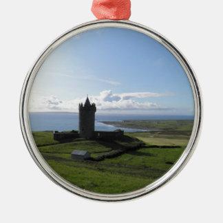 Doolin, Ireland Silver-Colored Round Decoration