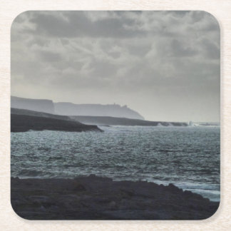Doolin, the Burren, Ireland Square Paper Coaster