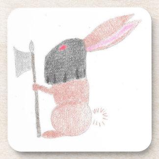 Doom Bunny Beverage Coaster