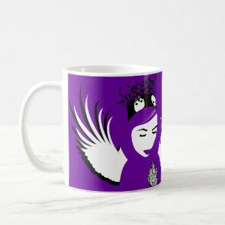 doomed devotion : lost angel basic white mug