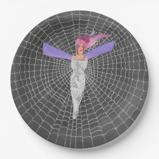 Doomed Fairy Paper Plate