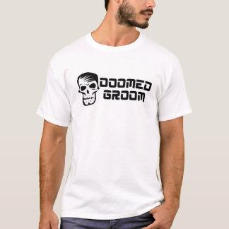 Doomed Groom Black And White T-Shirt