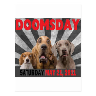 Doomsday - Rapture  May 21, 2011 Postcard