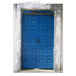 Door 1 card