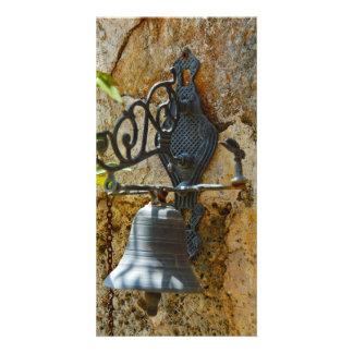 Door bell custom photo card