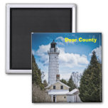 Door County Lighthouse Magnet