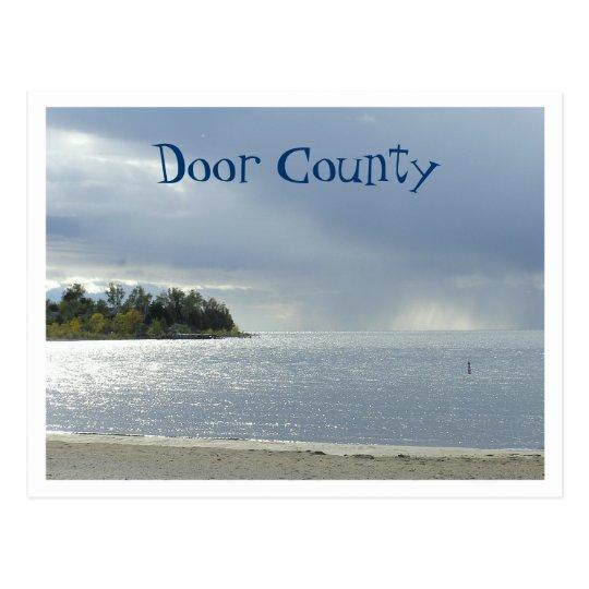 Door County, Wisconsin Postcard