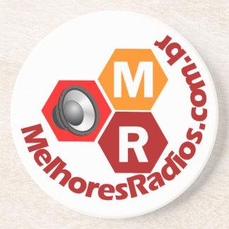 Door Cups of the portal Better Radios Drink Coaster