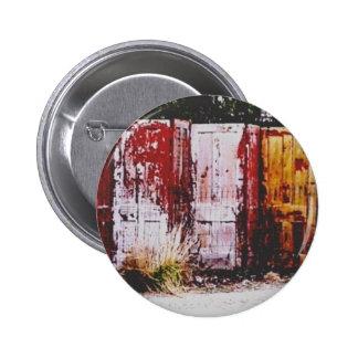 Door Fence 6 Cm Round Badge