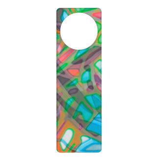 Door Hanger Colorful Stained Glass