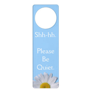 Door Hanger - New Daisy on Blue