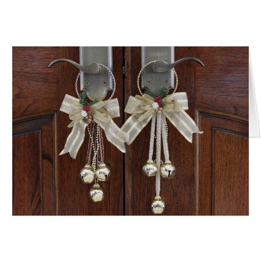 Door hangers greeting card
