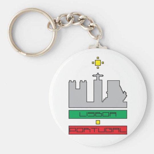 Door-keys Monuments of Lisbon-Portugal Key Ring