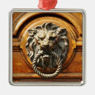 Door knob christmas ornament