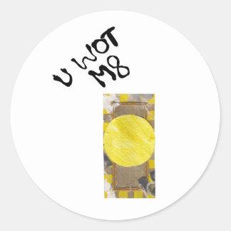 Door Knob Stickers