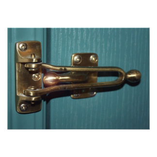 Door Latch Security Custom Invite