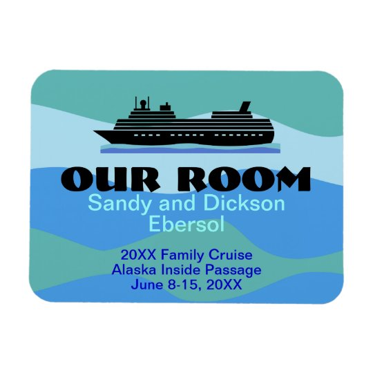 Door Magnet Cruise Ship Room ID and Memento