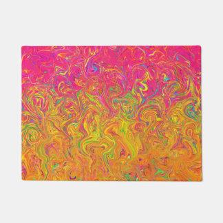 Door Mat Fluid Colors