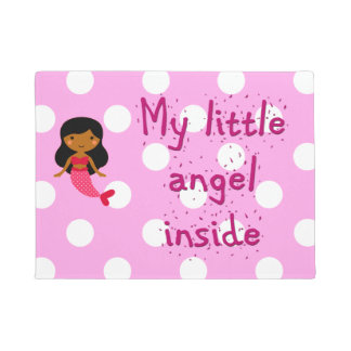 Door mat for your little angel
