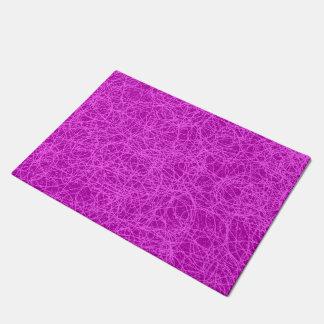 Door Mat Purple Network