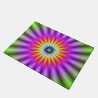 Door Mat  Wheel of Colour