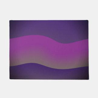 Door Mats Modern Art Design Shades of Purple