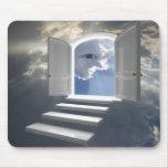Door opened on a mystic eye mousepad