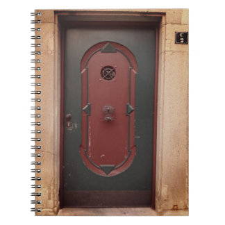 Door Photo Notebook