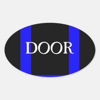 Door Sticker Visual Adaptive Living Tool Mnemonics
