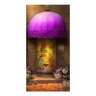 Door - The door to wonderland Photo Card