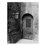 Door to Newgate Prison Postcards
