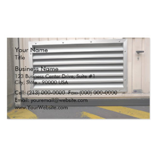 Door with ventillation cover pack of standard business cards