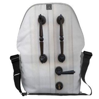 Doorknob Pattern Messenger Laptop Bag Messenger Bag