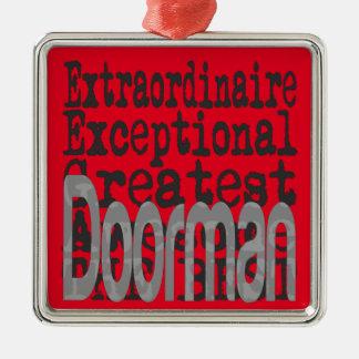 Doorman Extraordinaire Christmas Ornament