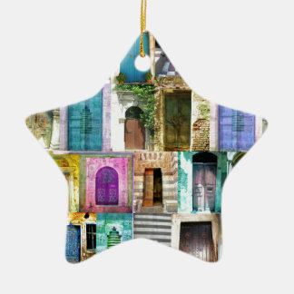 Doors and Windows from Around the World Christmas Ornament