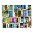 Doors and Windows from Around the World Postcard
