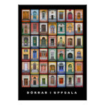 Doors in Uppsala (big) Poster